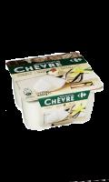 Yaourt au lait de chèvre vanille Carrefour