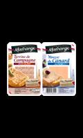 Terrine de Campagne et Mousse de Canard Madrange