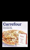 Pizza Pâte Fine au thon Carrefour