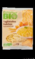 Tagliatelles fraîches Carrefour Bio