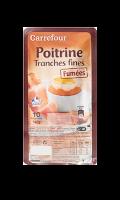 Poitrine Tranches Fines Fumées Carrefour