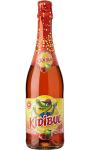 BOISSON PETILLANTE KIDIBUL A base de jus de fruits Pomme Fraise 75cl