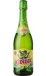 BBOISSON PETILLANTE KIDIBUL A base de jus de fruits Pomme 75cl