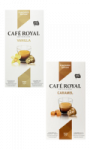Capsules Vanille ou Caramel Café Royal