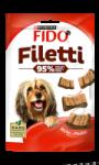 Tranches de poulet pour chiens Fido Filleti