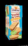 Tranches de cake croustillant St Michel