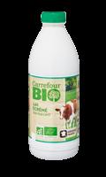 Lait bio écrémé stérilisé UHT Carrefour Bio