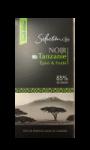 Chocolat noir 85% tanzanie Carrefour Sélection