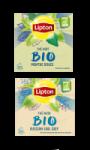 Lipton BIO Thé vert menthe ou thé noir Earl Grey