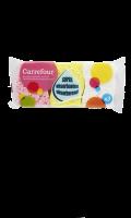 Éponges végétales colorées Carrefour