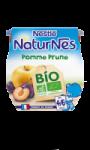 Compotes Bio Pomme Prune dès 4 mois NaturNes