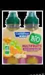 Nectar multifruits sans sucres ajoutés bio Carrefour Kids
