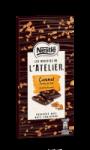 Tablette de chocolat noir aux éclats de caramel Nestlé Recettes de l'Atelier