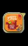 Edgard & Cooper Barquette Poulet & Dinde pour chien