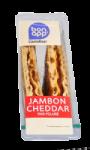Sandwich Jambon Cheddar pain polaire Bon App' Carrefour