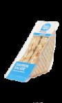 Sandwich Saumon Salade Pain de Mie Complet Carrefour BonApp '