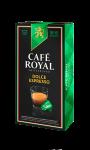 Café Royal compatibles système Nespresso®* Dolce Espresso x10 capsules