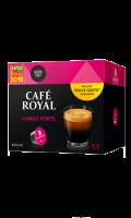 Café Royal compatibles système Nescafé® Dolce Gusto®* Lungo Forte x16 capsules