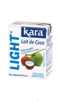 Lait de coco light Kara