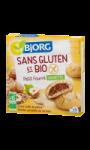 Biscuits petit fourré aux noisettes sans gluten bio Bjorg