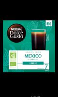 Café capsules origine Mexico Bio Nescafé Dolce Gusto