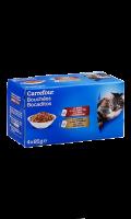 Pâtée pour chats boeuf carotte et dinde épinards Carrefour