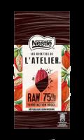 Chocolat noir 75% dégustation République Dominicaine Les Recettes de l'atelier