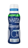 Déodorant compressé magnésium protect 48h Narta Homme
