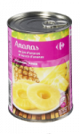 Fruits au sirop ananas en tranche Carrefour