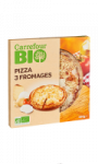 Pizza bio 3 fromages CARREFOUR BIO