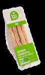 Sandwich jambon emmental pain complet Bio Bon app' Carrefour