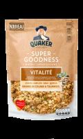 Muesli croustillant vitalité Super goodness Quaker