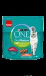 Croquettes pour chat adulte stérilisé à la Spiruline & Bœuf Purina One