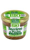 Terrine bio de poulet au poivre vert Bonjour Campagne