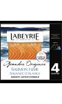 Saumon fumé sauvage d'Alaska LABEYRIE