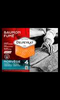 Saumon fumé extra Norvège DELPEYRAT