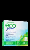 Tablettes lave-vaisselle tout en 1 Carrefour Eco Planet
