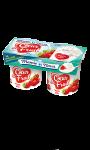 Yaourts fraise des bois MAMIE NOVA