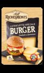 Fromage à raclette pour burger RICHES MONTS