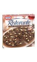 Pizza chocolat RISTORANTE