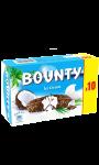 Barres glacées noix de coco cacao BOUNTY