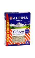 Pâtes les Crozets sarrasin Alpina Savoie
