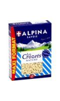 Pâtes Crozets, nature ALPINA SAVOIE