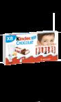 Barres chocolatées  KINDER CHOCOLAT