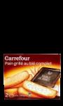 Pain grillé au blé complet Carrefour