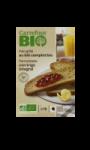 Pain grillé bio au blé complet Carrefour Bio