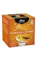 Infusion gingembre orange bio YOGI