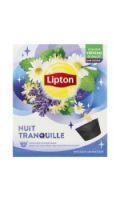Infusion capsules Nuit Tranquille tilleul lavande camomille LIPTON