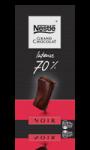 Tablette Grand Chocolat Noir Intense 70 % Nestlé