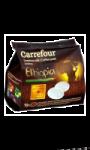Café dosettes Ethiopia Carrefour